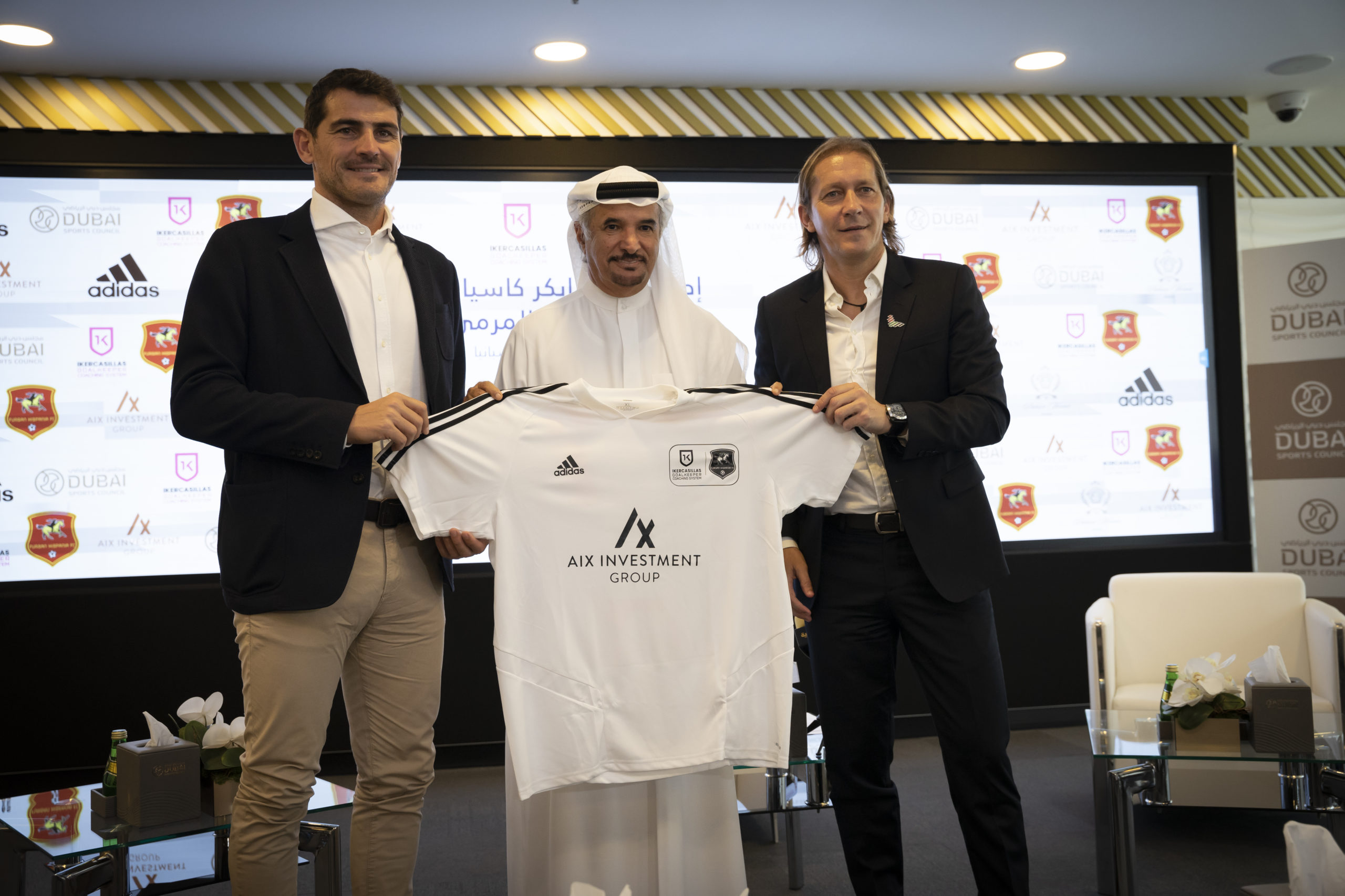 Sponsoring Iker Casillas Academy